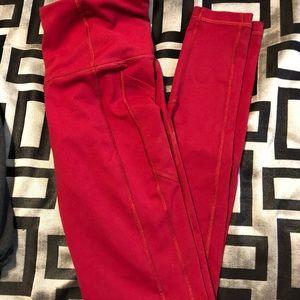 Pink VS sports leggings
